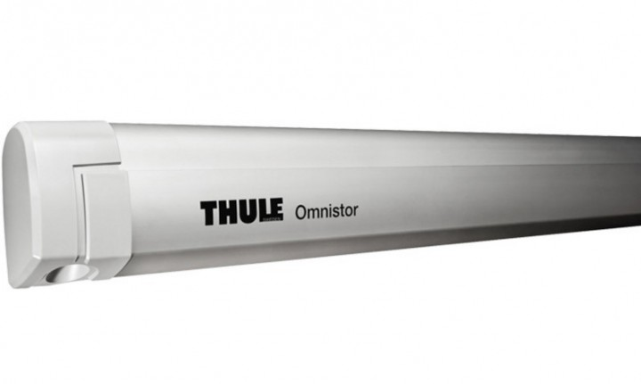 Thule Omnistor 5200 eloxiert Länge 2,60 x 2,00 m Blue-Sky