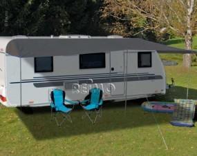 Sonnensegel für Wohnwagen 450 x 240 cm Como 6 anthrazit