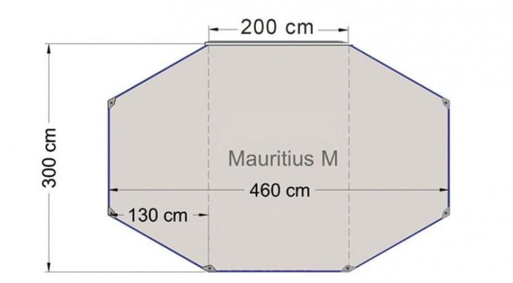 Reimo Sonnenvordach Mauritius M 4,6x3m