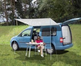 Sonnensegel Charlyne für Minicamper mit langem Radstand