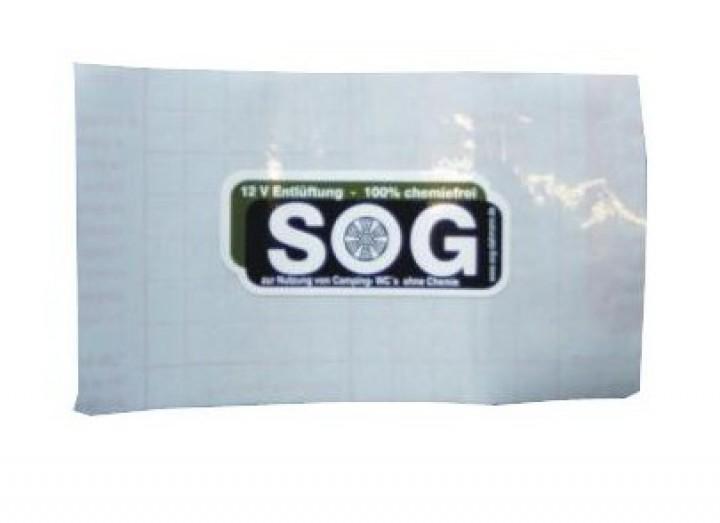 SOG Ersatzteil Klebefolie für Cassette C400