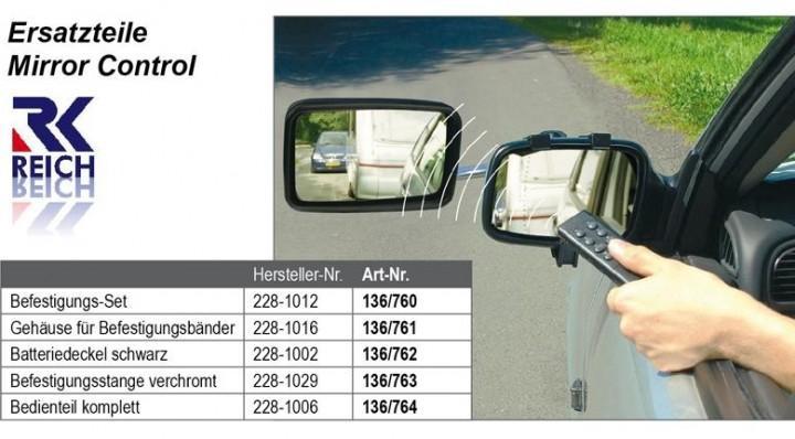 Reich Mirror Control elektrischer Aufsteckspiegel