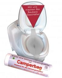 WC-Camperbag Toiletteneinlage 40er Pack