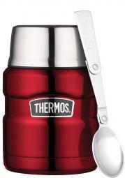Thermos Essensbehälter 'King' 0,45 Liter, rot