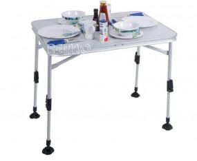 Campingtisch Florenz mit heller Tischplatte
