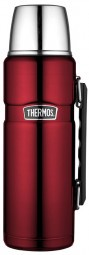 Thermos Isolierflasche 'King' 1,2 Liter, rot