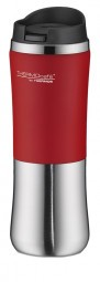 Thermos ThermoCafe 'Brilliant Mug' Isolierbecher 0,3 L, rot