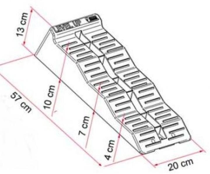 Auffahrkeile Wohnmobil Level Up Maxi mit Tasche