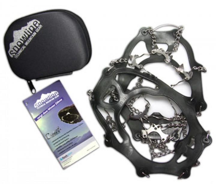 Snowline Schuhketten Chainsen Light Größe L 39 - 43 silber