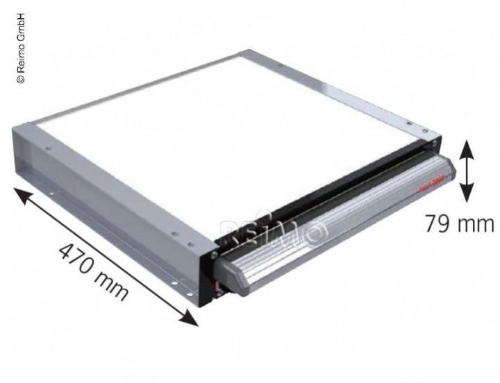 Elektrische Trittstufe 12V 70 cm breit für Kastenwagen und Wohnmobile