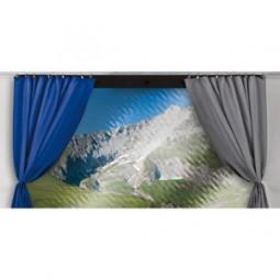 Gardinen für Thule Panorama, 3 – 3,5m, Blau