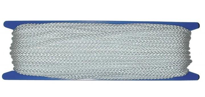 Abspannleinen Zeltspannleine 4 mm weiß 10 m