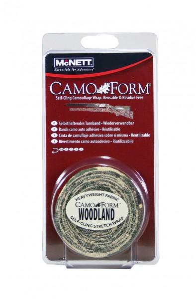 McNett Schutz- und Tarnband Camo Form Standard Woodland