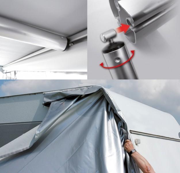 Wigo Rollmarkise Rolli Premium Camping Outdoor Zubeh R