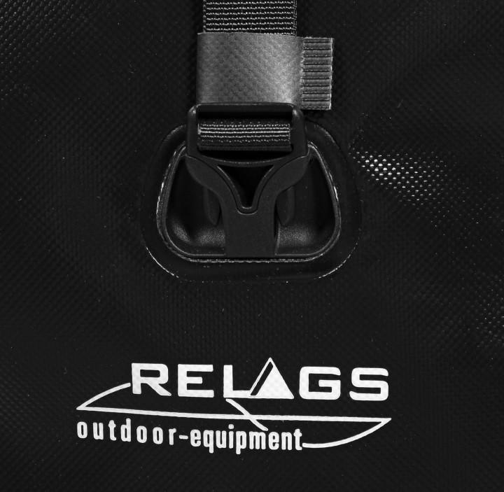 Relags 'Radltaschen' Vorderrad, schwarz
