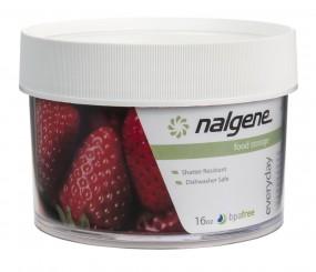 Nalgene Dose Polycarbonat 'white' 500 ml, Hals Ø 112 mm