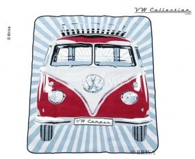 VW Collection Bulli-Picknickdecke rot