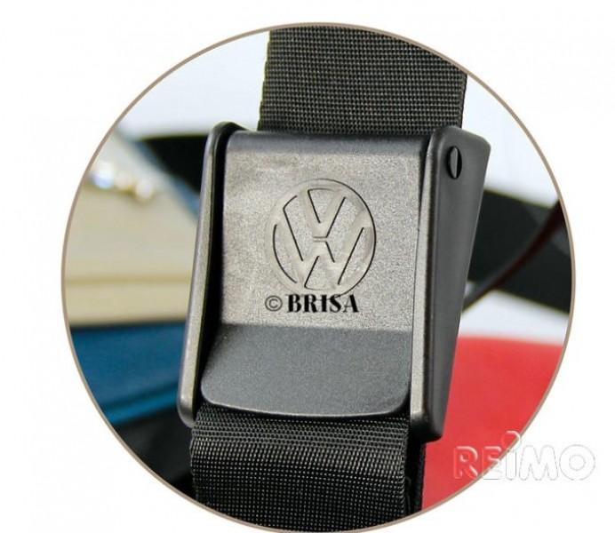 VW Collection Schultertasche Mini rot/schwarz