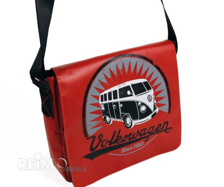 VW Collection Schultertasche Bulli rot