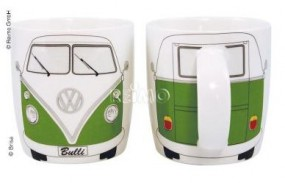 VW Collection Kaffeetasse VW Bulli schwarz grün