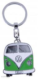 VW Collection Schlüsselanhänger grün Bulli-Front-Design