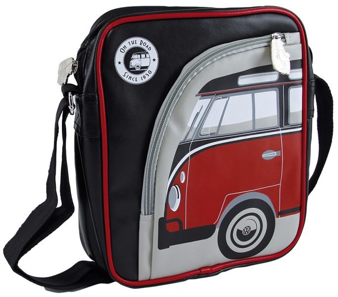 VW Collection Schultertasche VW Bulli rot