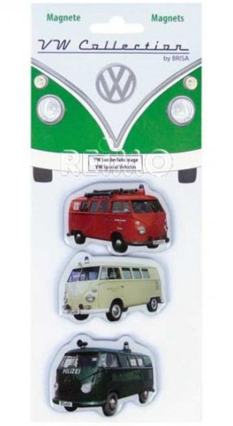 VW Collection Magnete VW Sonderfahrzeuge