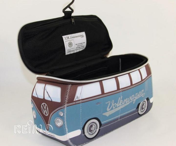 VW Collection Kulturbeutel Bulli T1 blau