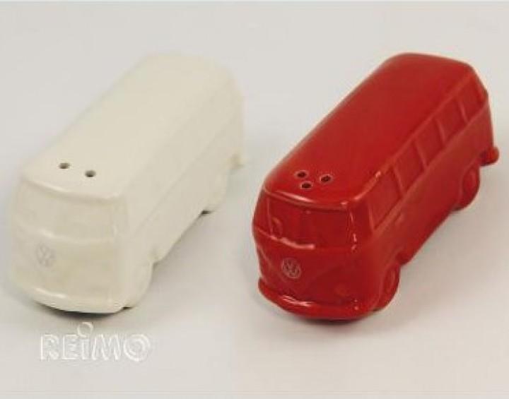 VW Collection Salz- und Pfefferstreuer rot und weiß