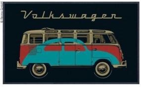 VW Bulli Türmatte Bulli & Käfer schwarz