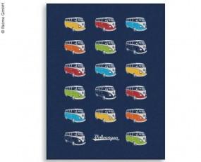 VW Collection Fleecedecke VW Bulli Parade Motiv