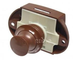 Push Lock von außen zu öffnen braun
