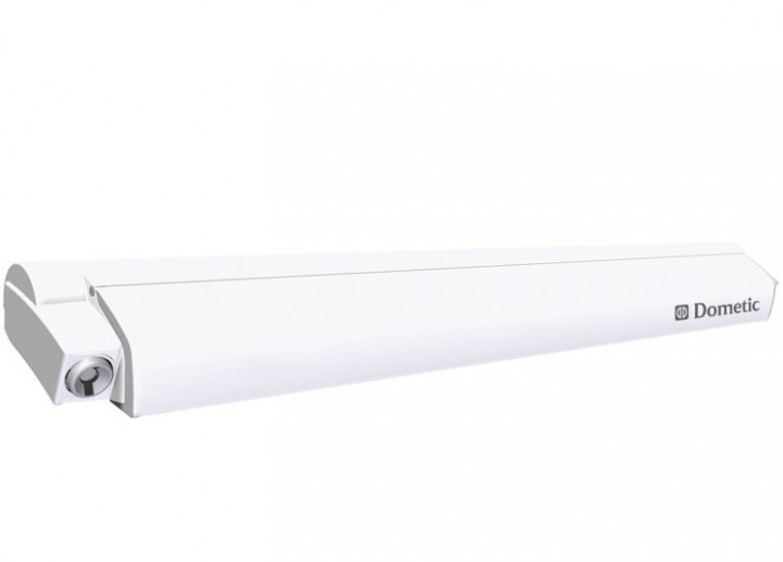 Dometic-Markise PerfectRoof PR 2500 weiß mit Motor 5 x 2,75 m Grau