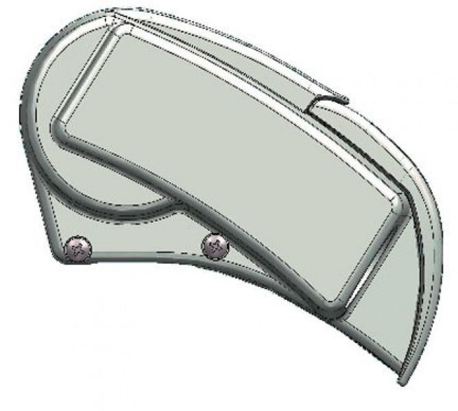Dometic-Markise PerfectRoof PR 2500 eloxiert 4 x 2,5 m Grau
