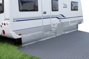 Spezial-Bodenschürze für Caravan Länge 5 m Höhe 50 cm