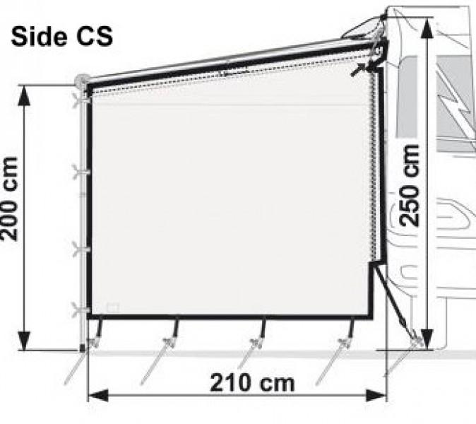 Fiamma Side W PRO Seitenwand Caravanstore