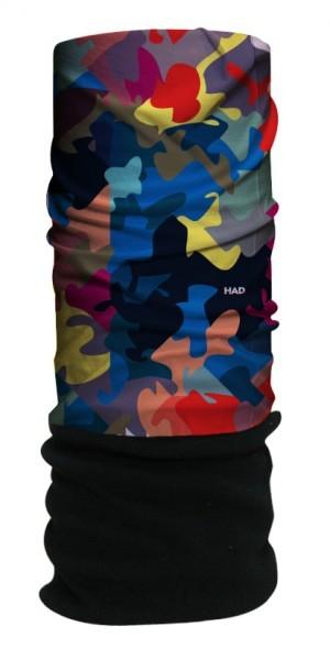 HAD Tuch Fleece 'Urban Camouflage'