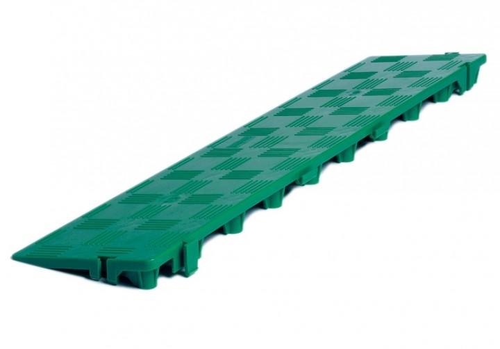 Clippy Längsrampe für Clippy Bodenrost grün
