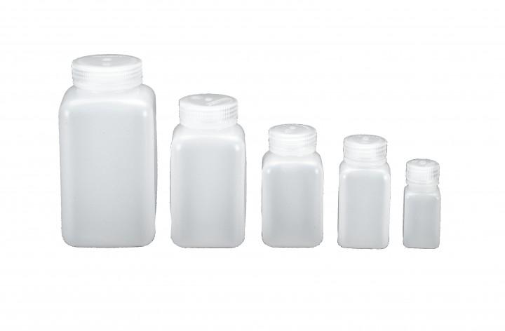 Nalgene Weithalsflaschen, quader 1000 ml, Hals Ø 53 mm
