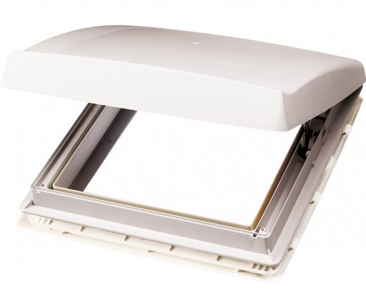 Thule Dachhaube Omnivent weiß 40 x 40 cm mit Ventilator