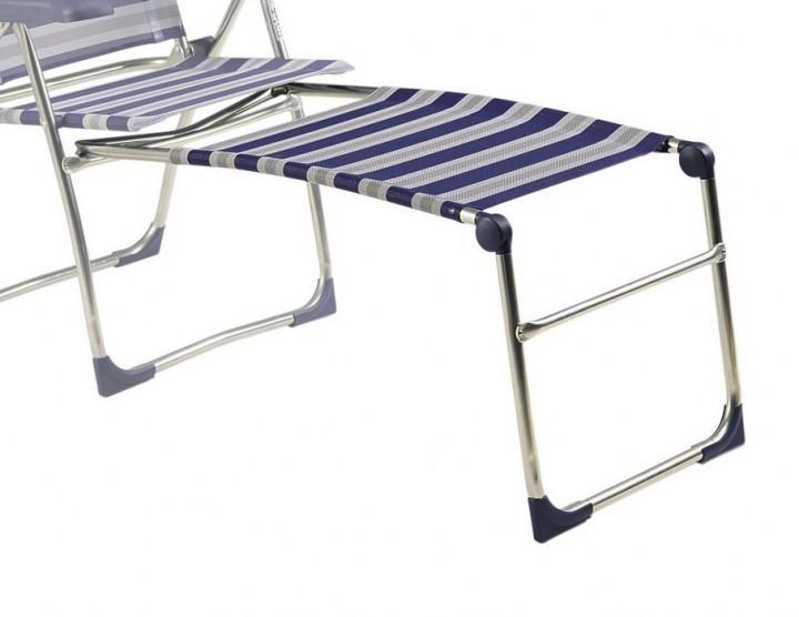 Crespo Fußauflage R/209 blau-grau