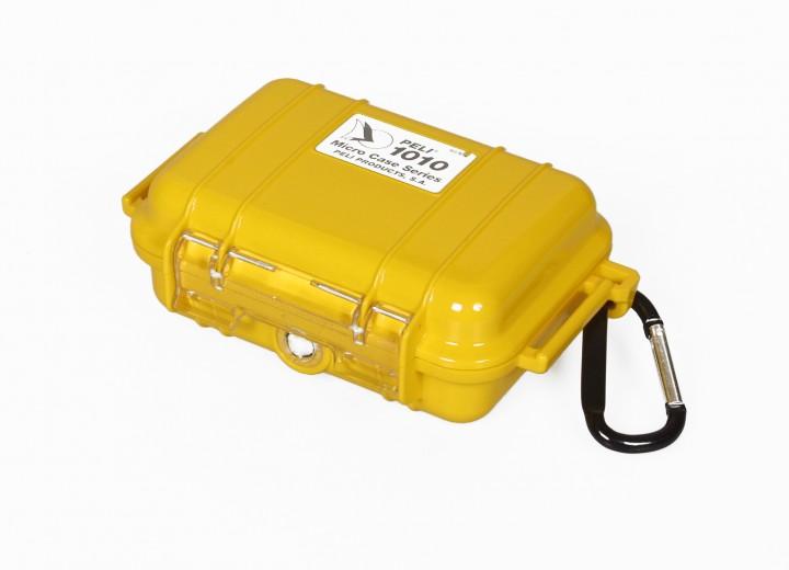 Peli 'MicroCase 1010' gelb