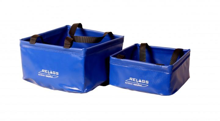 Relags 'Faltschüssel' 10 L, blau