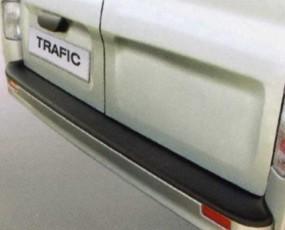 Ladekantenschutz für Renault Trafic mit lackierter Stoßstange