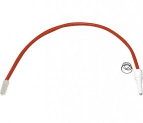 Zündelektrode inkl. Feder für SMEV-Kocher neue Modelle, Länge 28 cm mit Flachstecker