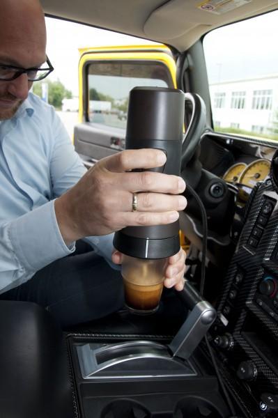 Handcoffee 12 Volt für Kaffeepads