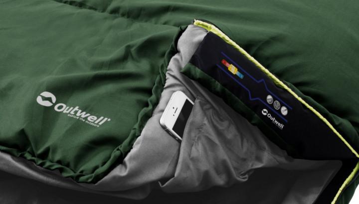 Outwell Schlafsack Campion Lux grün