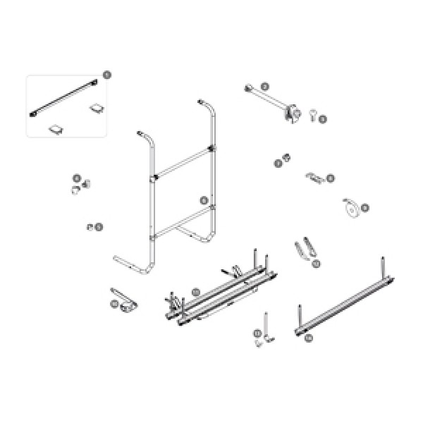 Montagesatz Thule Sport G2 Universal