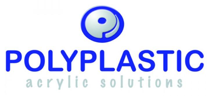 Polyplastic Winkel grau mit Riegel