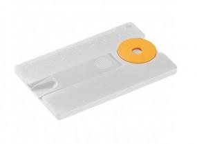 Schlüsselanhänger Einkaufswagenchip Karte Anti-Zecke
